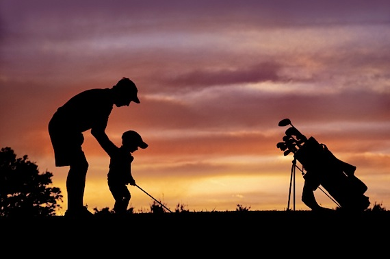 """Father's Day, golf and """"when I see men taking care of kids"""""""