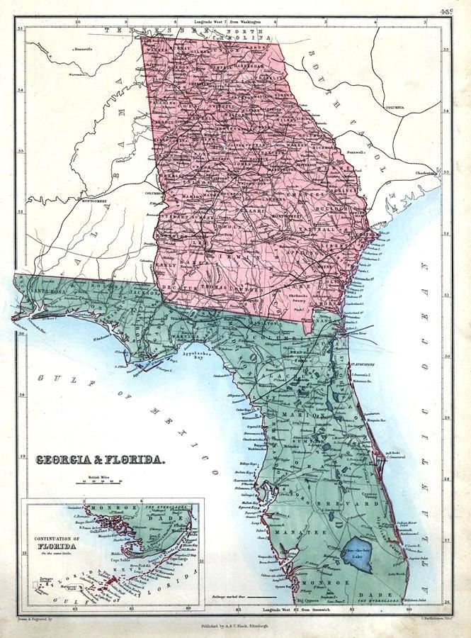 Map Of Florida Georgia Line Florida Georgia Line Archives   MichaelLeppert.com