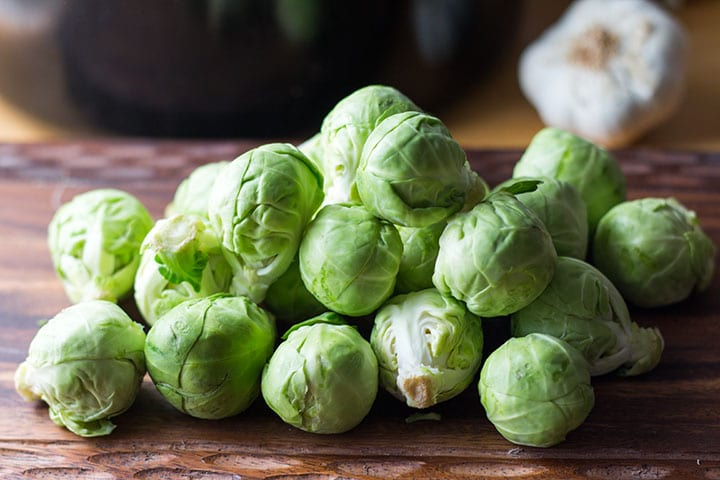 My dad ate Brussels sprouts before it was cool