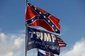 The MAGA flags and hats are now symbols of insurrection