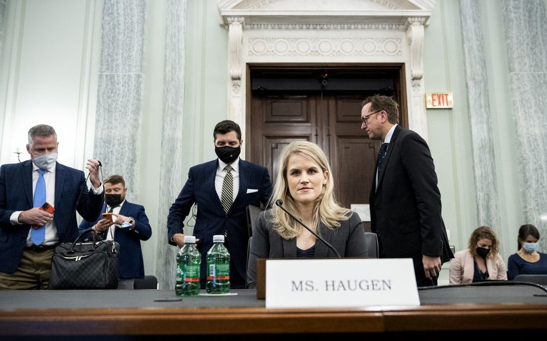 A guide to whistleblowing, delivered by Frances Haugen